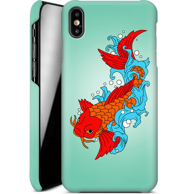 Apple iPhone XS Max Smartphone Huelle - Koi Carp von Mark Ashkenazi