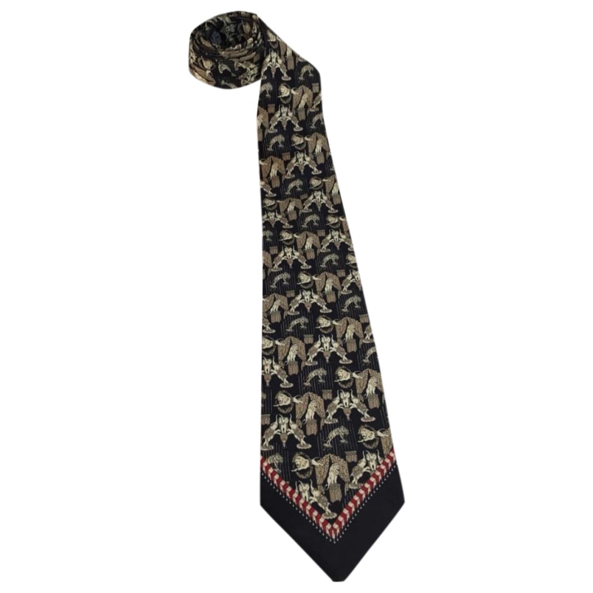 Gianfranco Ferre - Cravates   pour homme en soie - noir