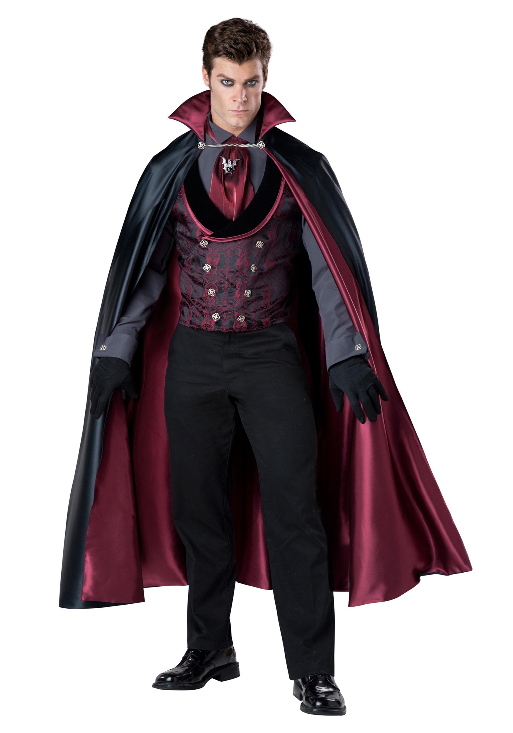 Nocturnal Count Vampire Costume for Men