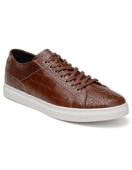 Mens Lace Up Brown Shoe