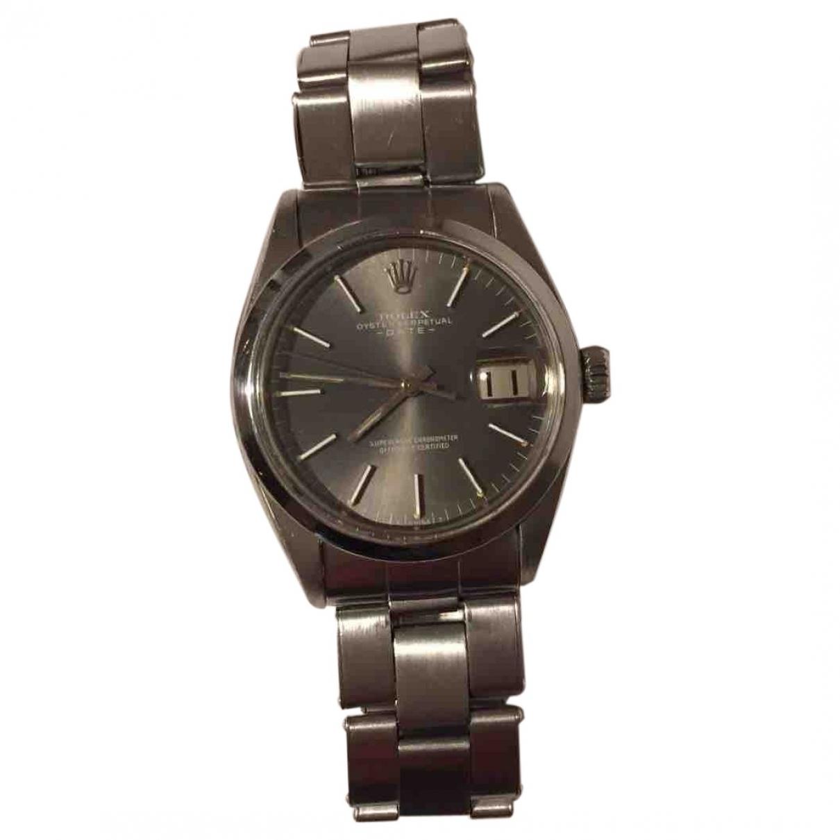 Rolex Oyster Perpetual 31mm Silver Steel watch for Men \N
