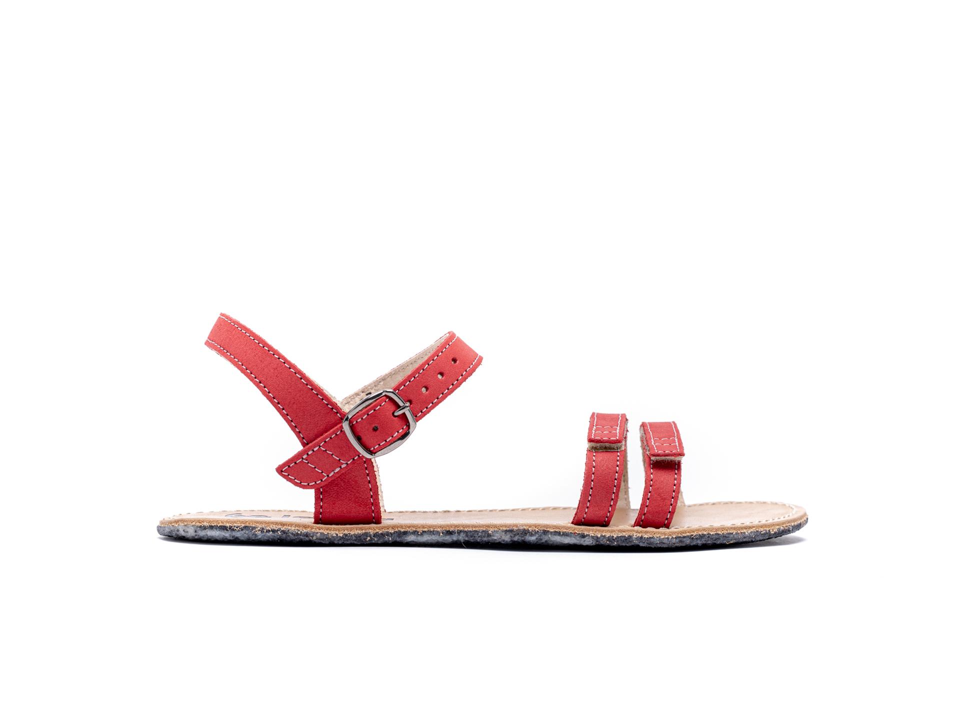 Barefoot Sandals - Be Lenka Summer - Red 37