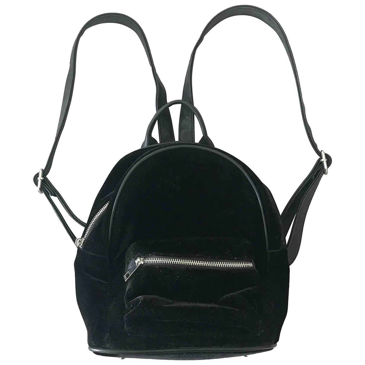 Non Signé / Unsigned \N Black Velvet backpack for Women \N