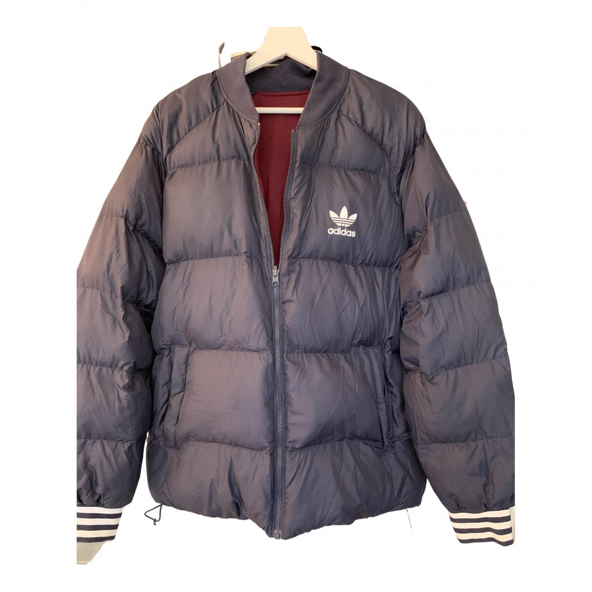Adidas - Manteau   pour homme - bleu