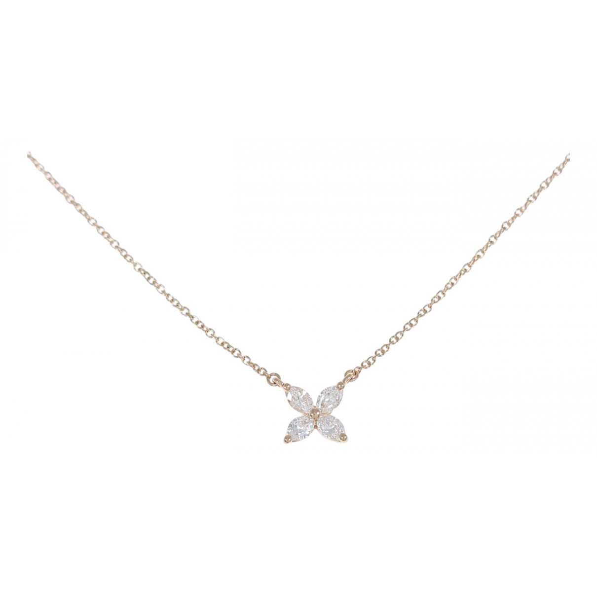 Tiffany & Co Victoria Gold Pink gold necklace for Women \N