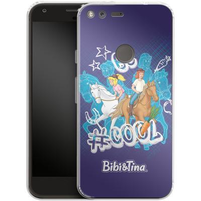 Google Pixel Silikon Handyhuelle - Bibi und Tina Be Cool von Bibi & Tina
