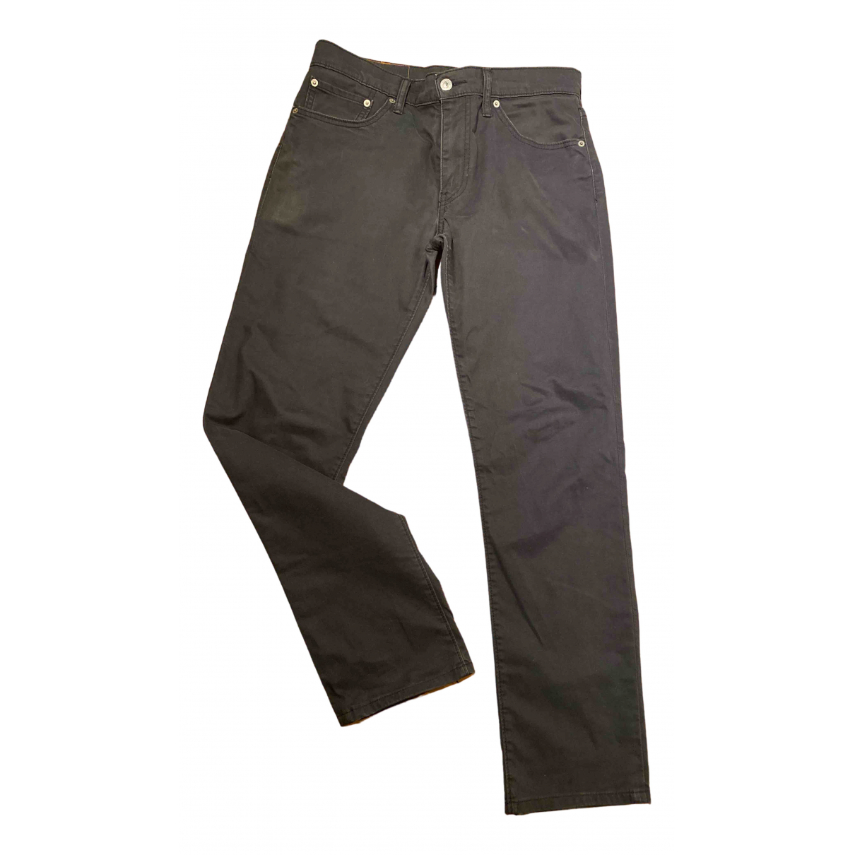 Levi's N Black Cotton Trousers for Men 32 UK - US