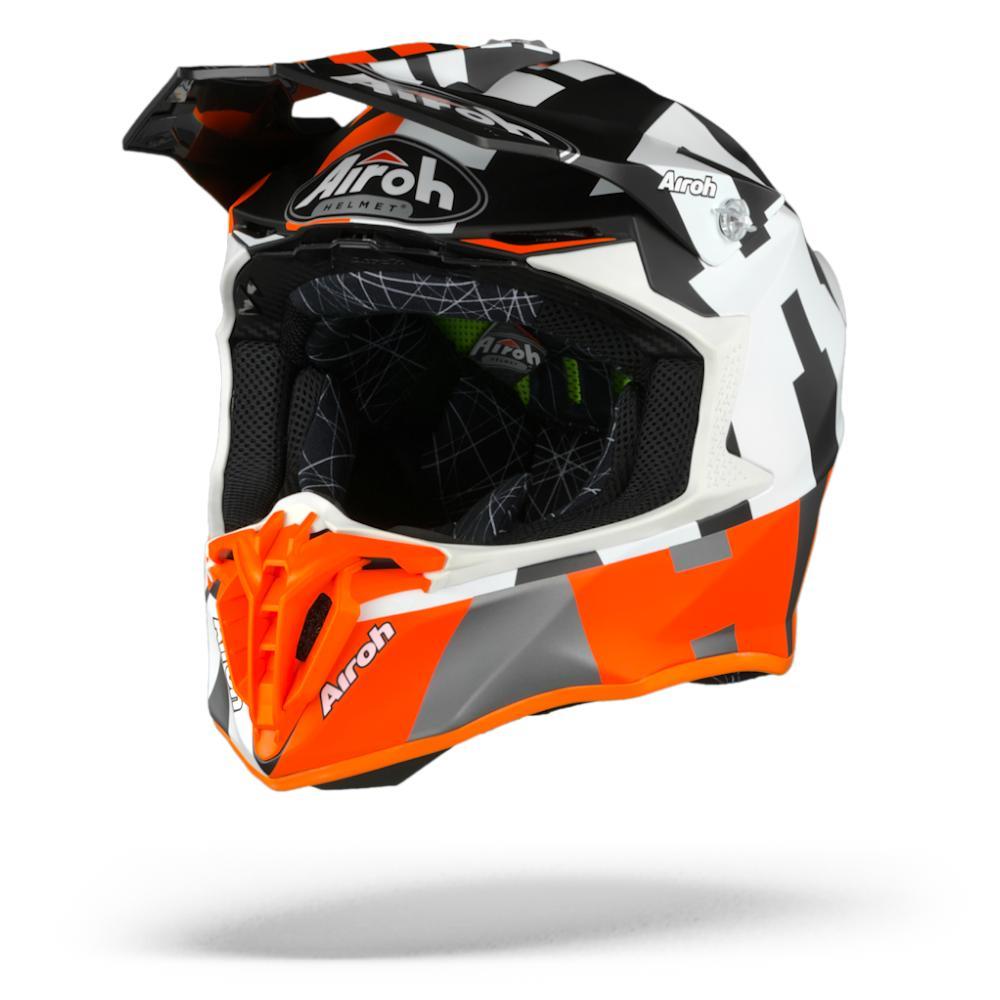 Airoh Twist 2.0 Frame Casco Motocross Naranja Mate  2XL