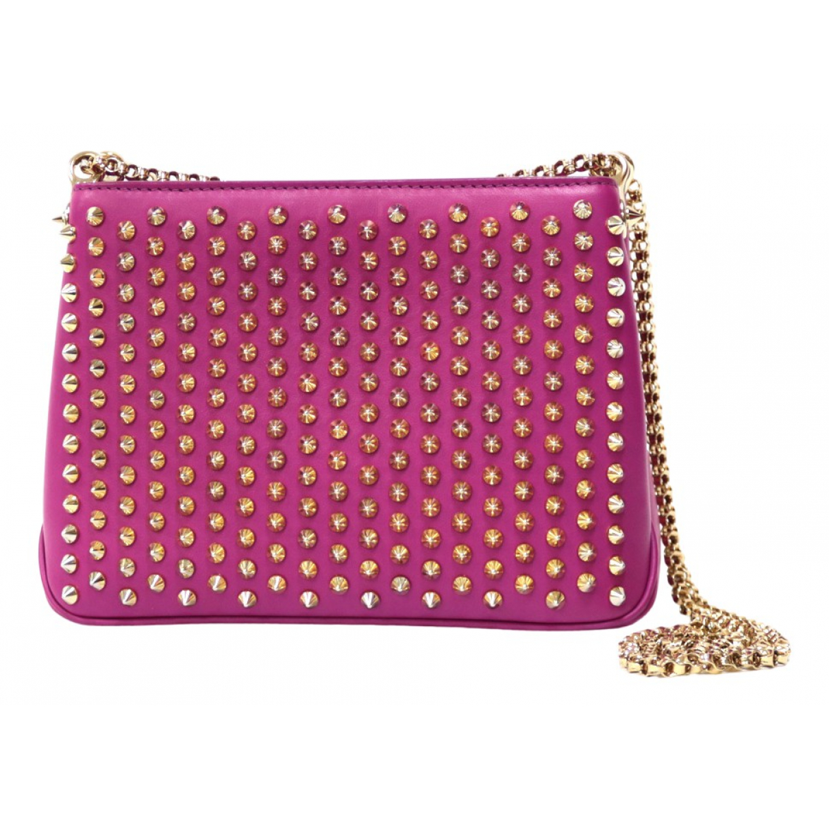 Christian Louboutin \N Pink Leather handbag for Women \N