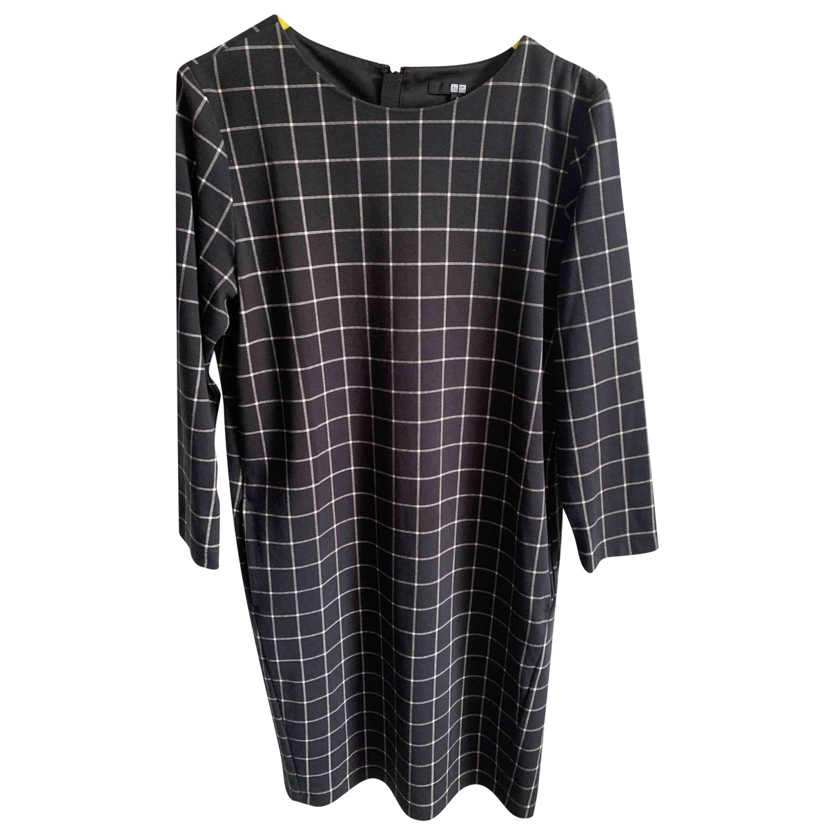 Uniqlo \N Kleid in  Schwarz Baumwolle