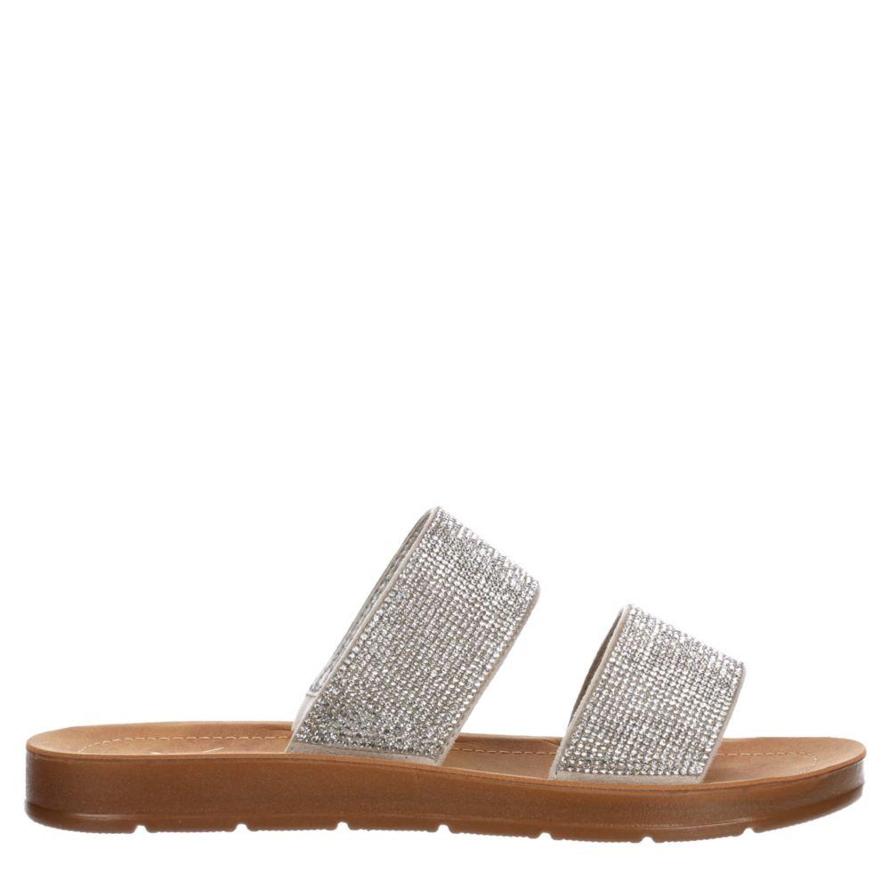 Xappeal Womens Dazzle Slide Sandal