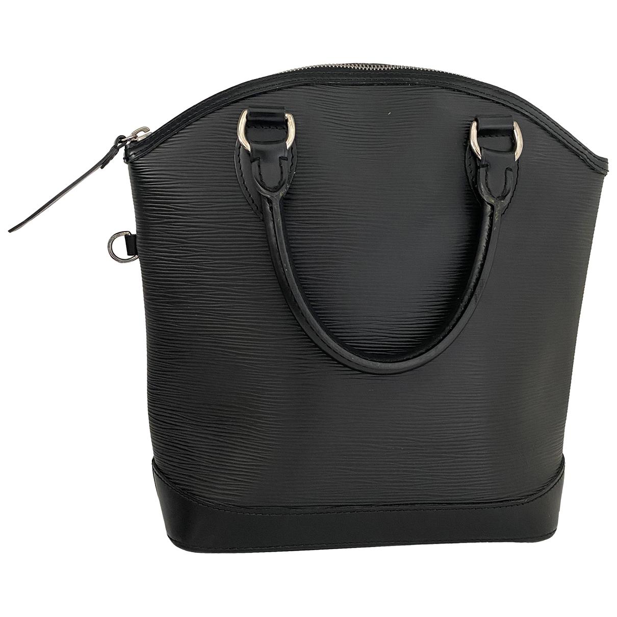 Louis Vuitton Lockit Vertical Black Leather handbag for Women N