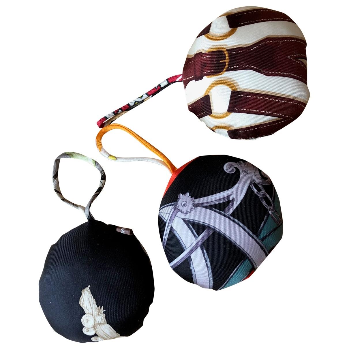 Hermes - Bijoux de sac   pour femme en soie - multicolore