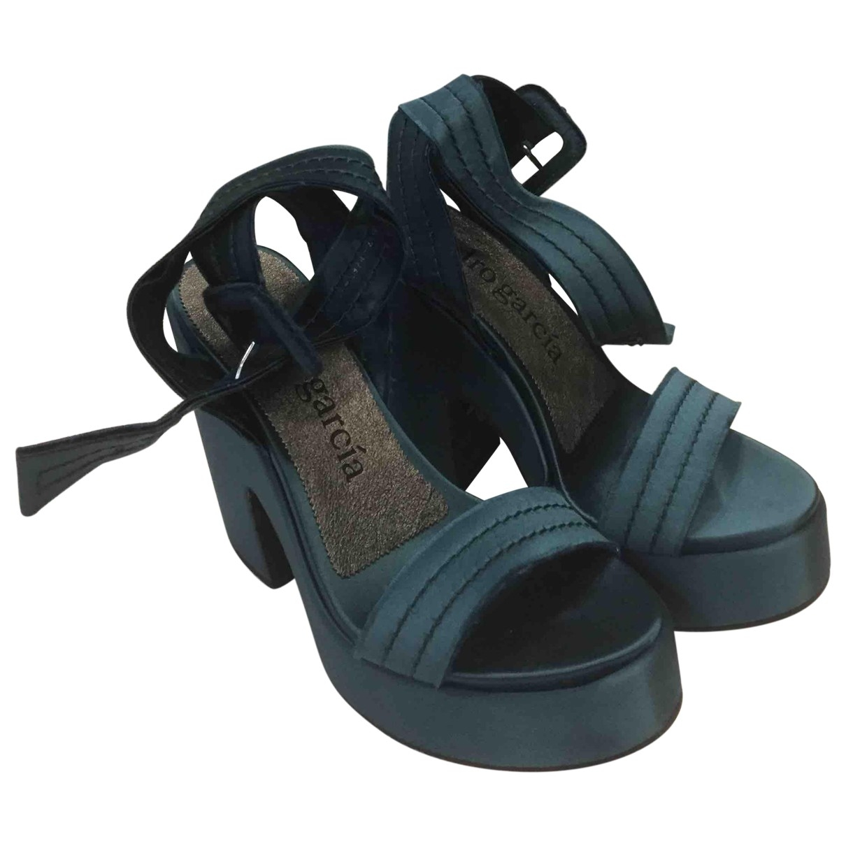 Pedro Garcia \N Cloth Heels for Women 38 IT