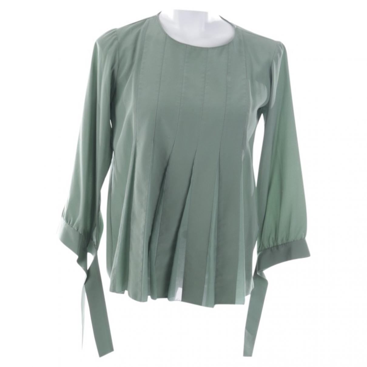 Dorothee Schumacher \N Green Silk  top for Women 36 FR