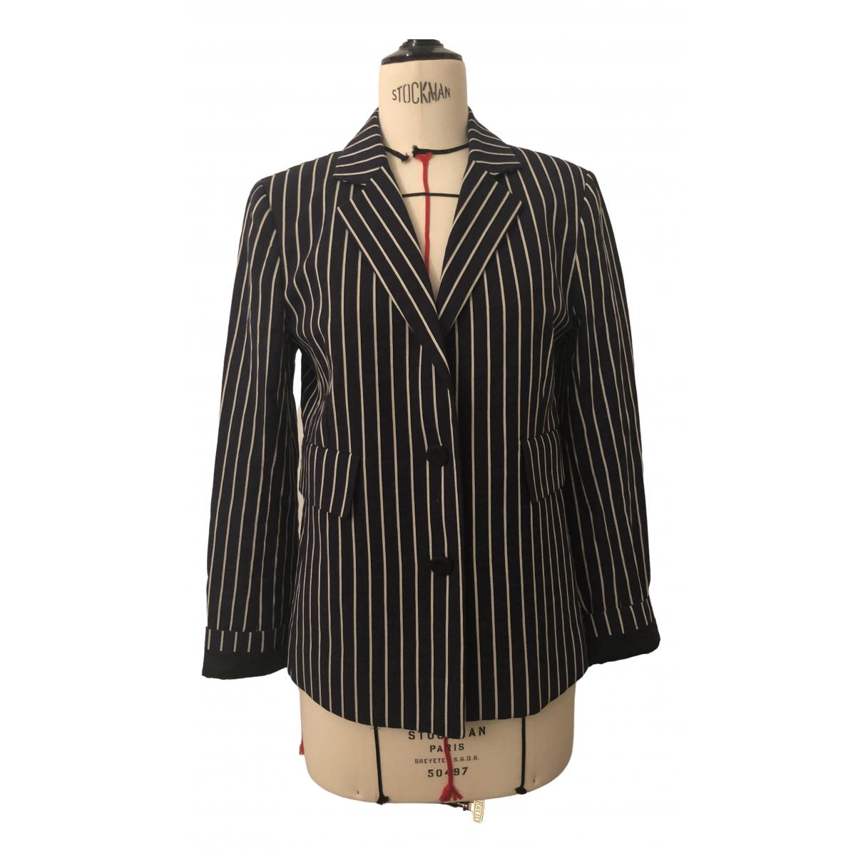 Innamorato \N Blue Cotton jacket for Women 38 FR