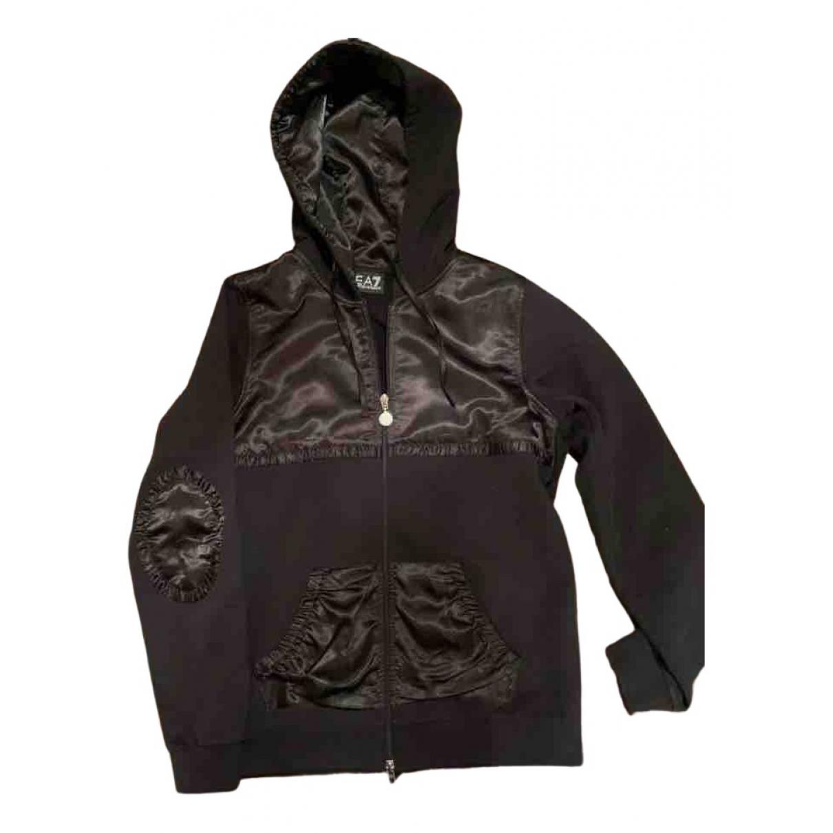 Emporio Armani N Black Cotton jacket for Women M International