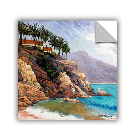 Brushstone Cabo San Lucas Removable Wall Decal, One Size , Blue