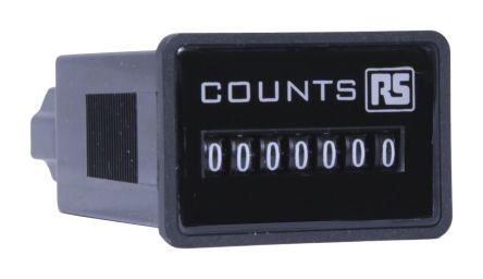 RS PRO , 7 Digit, Digital Counter, 10Hz, 12 V dc