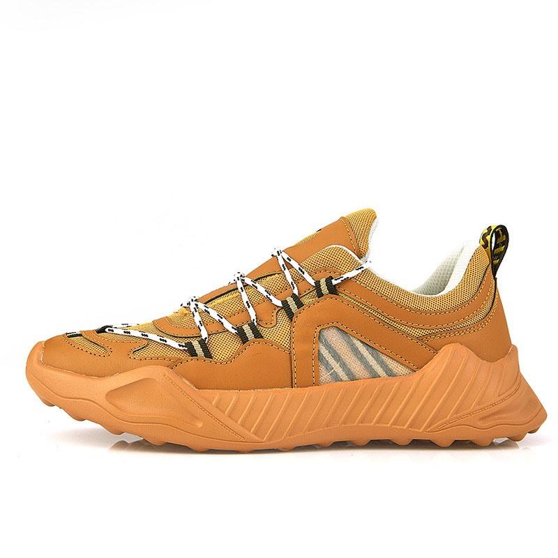 Ericdress Color Block Round Toe Men's Outdoor Sneakers