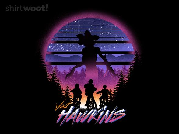 Visit Hawkins Indiana T Shirt