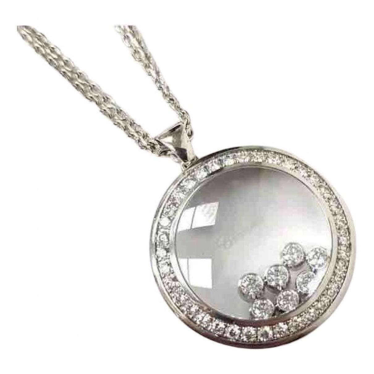 Colgante Happy Diamonds de Oro blanco Chopard
