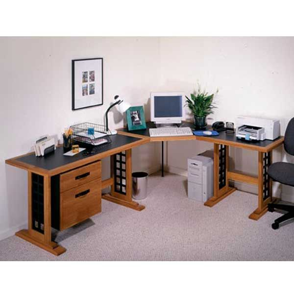 Woodworking Project Paper Plan to Build Computer Desk