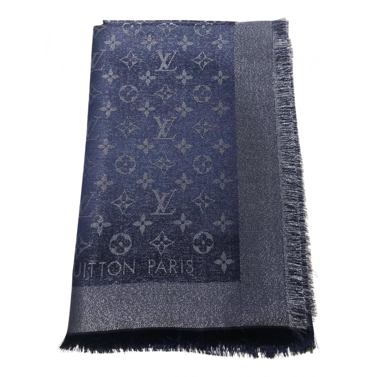 Bufanda Chale Monogram shine de Seda Louis Vuitton