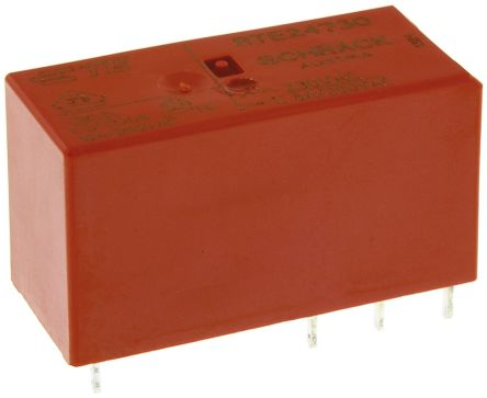 TE Connectivity , 230V Coil Non-Latching Relay DPDT, 8A Switching Current PCB Mount