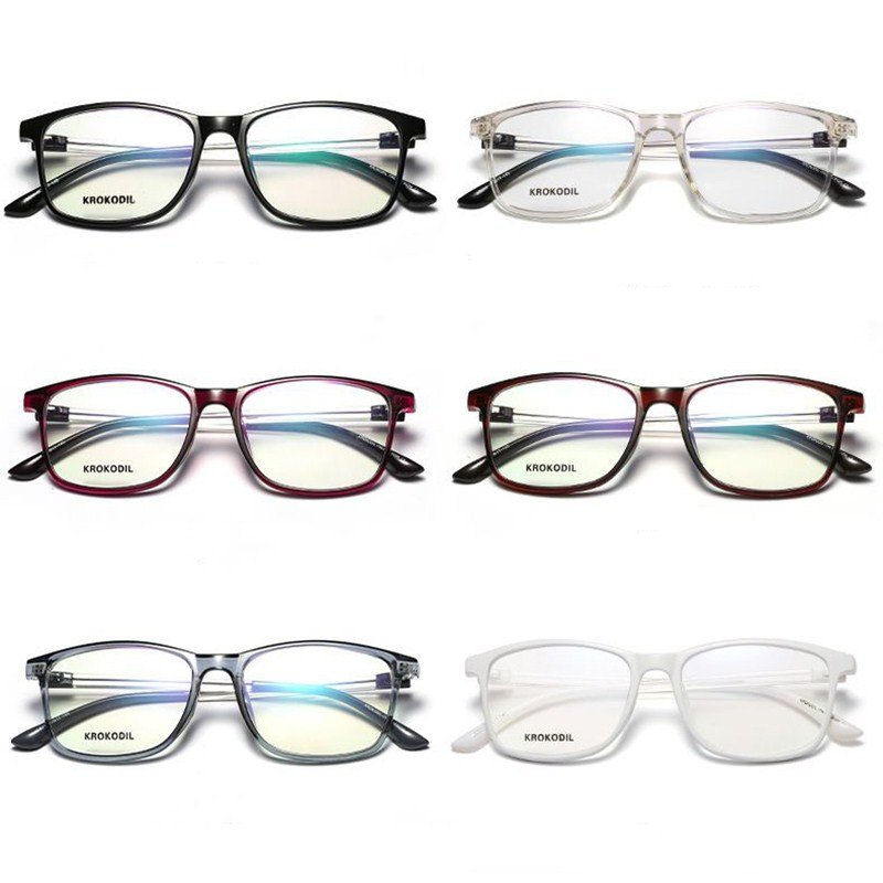 Fashion Computer Glasses Anti-Blue Goggles Protection Eye Game Flat Eyeglasses Personal Eye Care