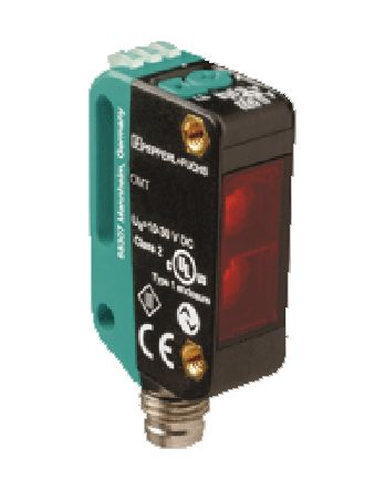 Pepperl + Fuchs OMT100 Distance Sensor Background Suppression 40 → 100 mm Detection Range IO-Link NPN/PNP
