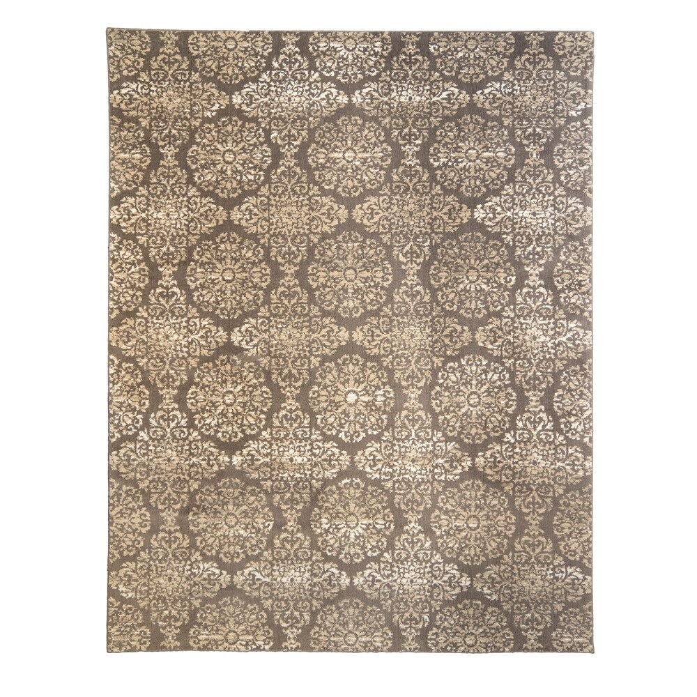 Upton Baden Brown Area Rug (5' x 7') by Gertmenian - 5' x 7' - 5' x 7' (5' x 7' - brown)