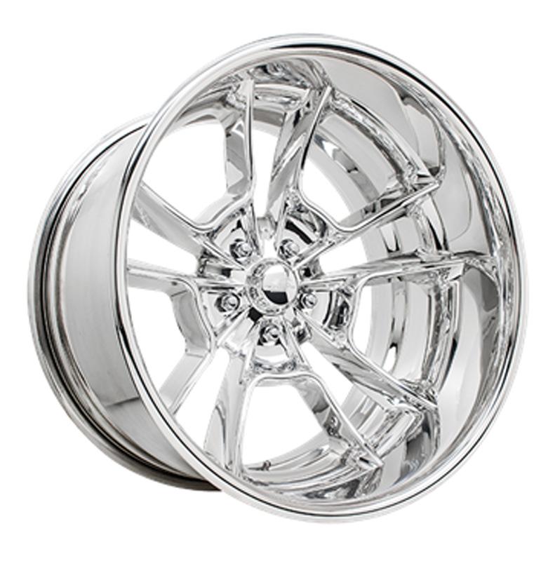Billet Specialties VDR69225Custom Grinder Extreme Polished 22x10.5 Wheel