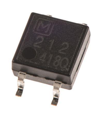 Panasonic 500 mA SPNO Solid State Relay, PCB Mount, PhotoMOS, 60 V Maximum Load