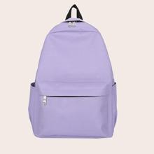Minimalist Large Capacity Canvas Backpack