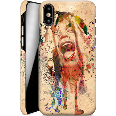 Apple iPhone X Smartphone Huelle - Scream von Mark Ashkenazi