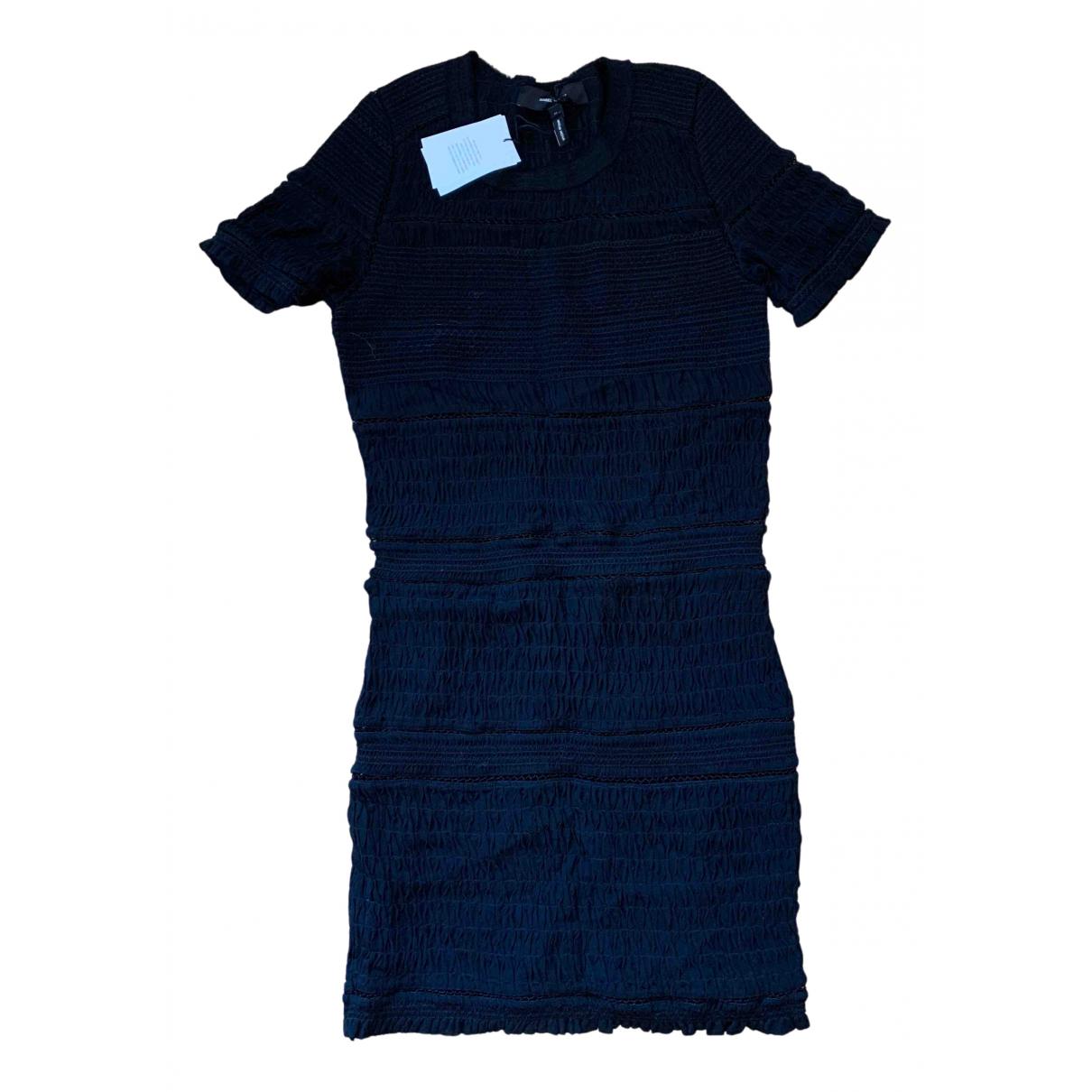 Isabel Marant N Black Silk dress for Women 38 FR