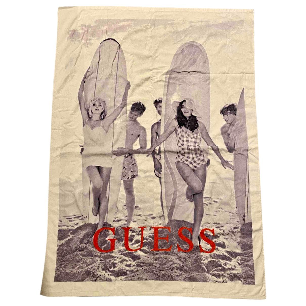 Guess - Bain   pour femme en coton - blanc