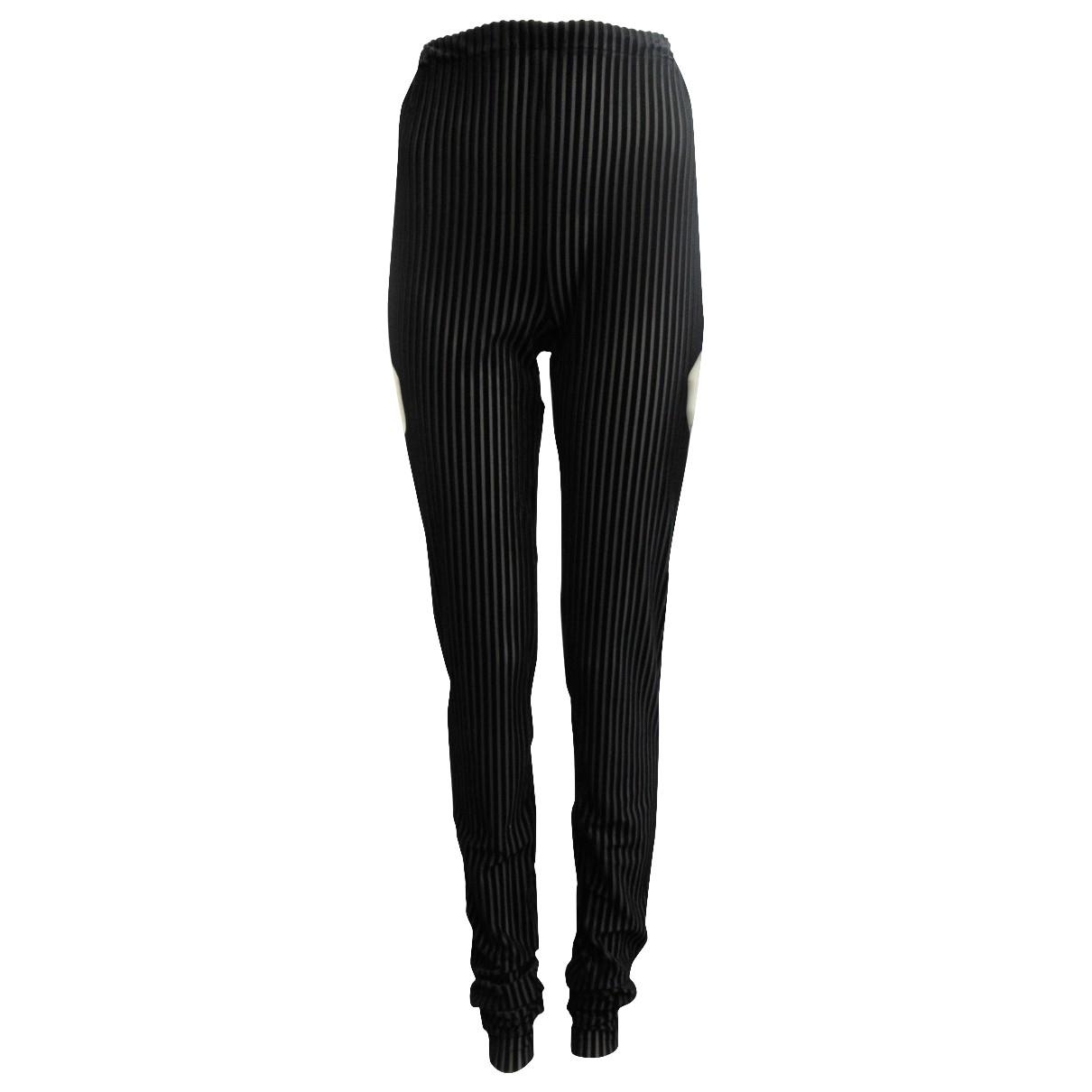 Vionnet \N Black Trousers for Women 40 IT