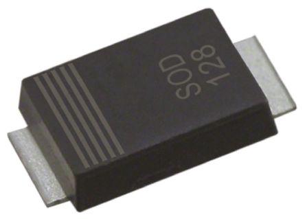 Nexperia PTVS36VP1UP,115, Uni-Directional TVS Diode, 600W, 2-Pin SOD-128 (25)