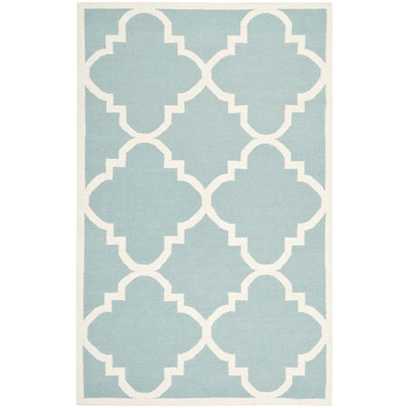 Safavieh Candis Hand Woven Flat Weave Area Rug, One Size , Blue