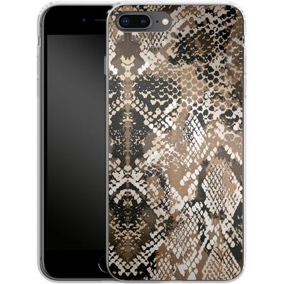 Apple iPhone 8 Plus Silikon Handyhuelle - Snakeskin von caseable Designs