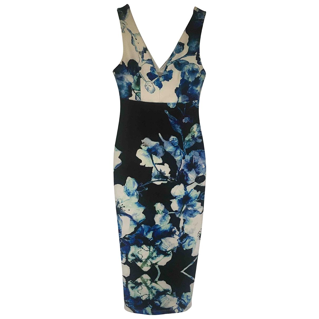 Asos \N Kleid in  Blau Polyester