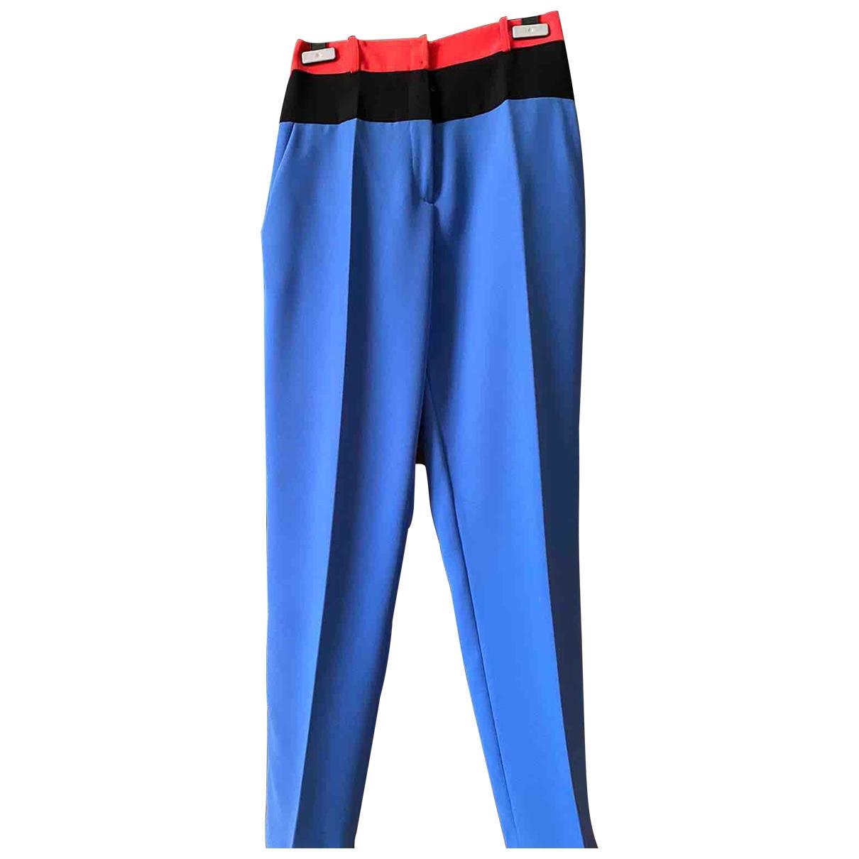 Elisabetta Franchi \N Multicolour Trousers for Women 40 IT