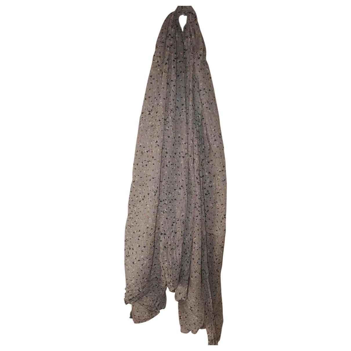 Victorinox \N Schal in  Beige Baumwolle