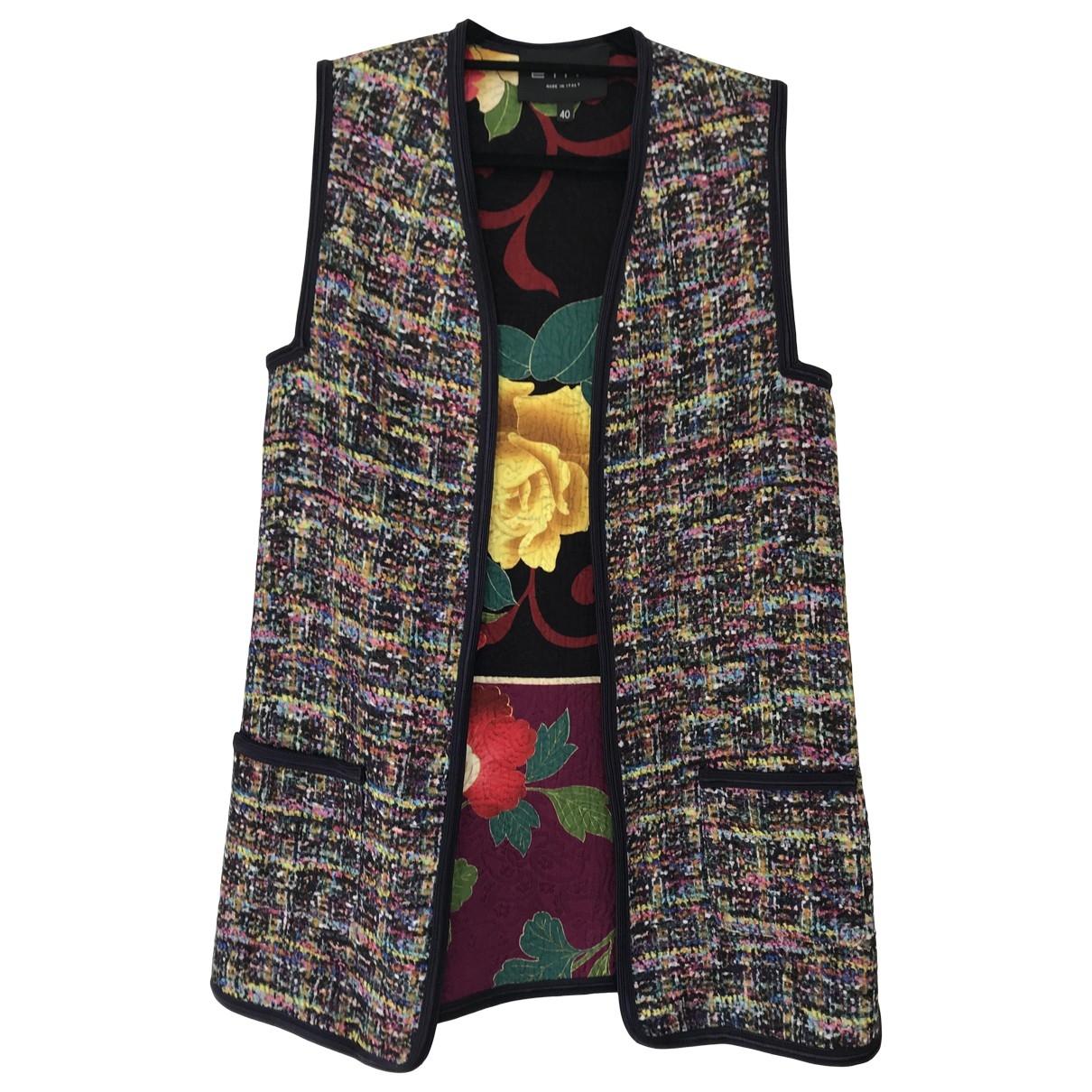 Etro \N Purple Cotton jacket for Women 40 IT