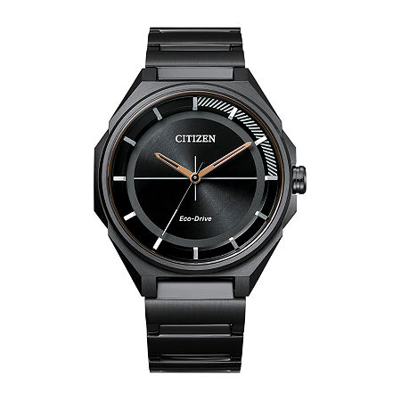Drive from Citizen Mens Black Stainless Steel Bracelet Watch-Bj6535-51e, One Size , No Color Family