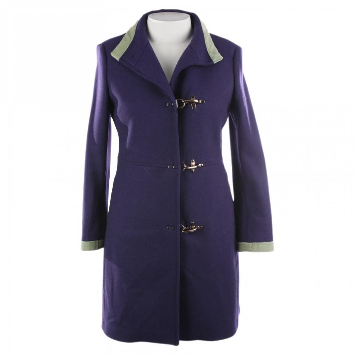Fay - Veste   pour femme en laine - violet