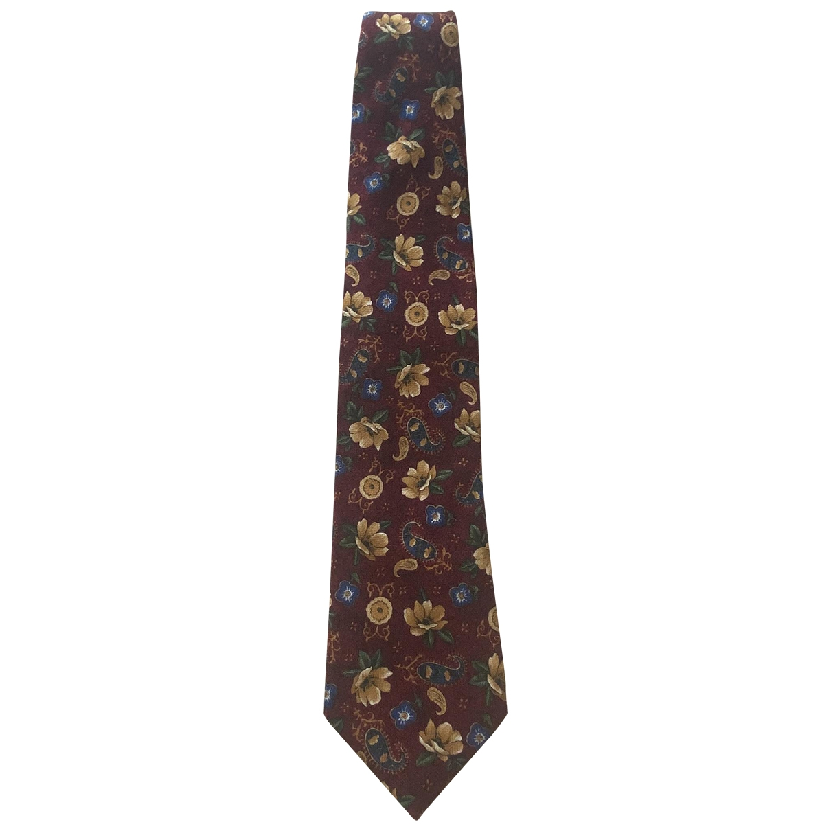 Kenzo \N Krawatten in  Rot Seide