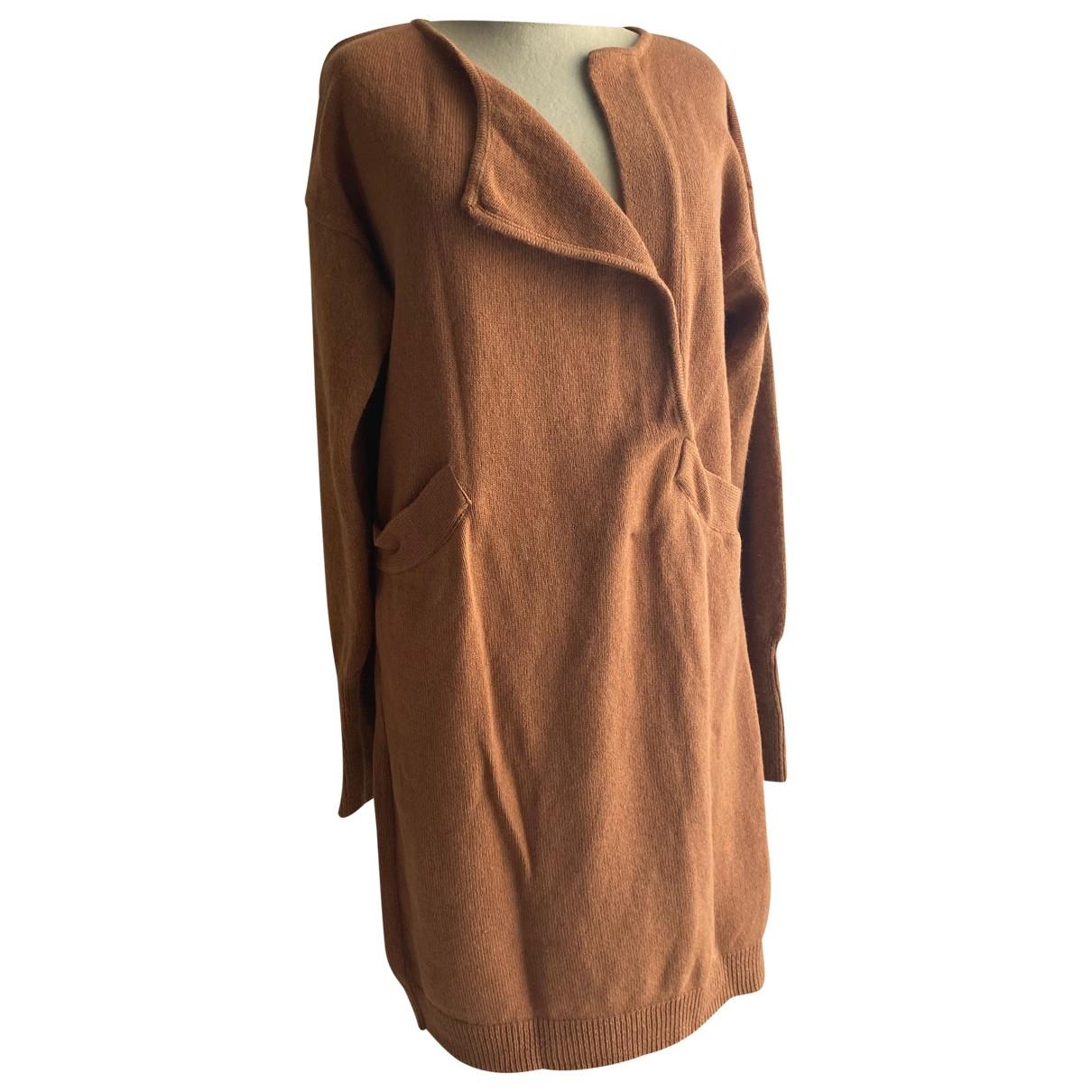 Les Prairies De Paris \N Kleid in  Kamel Wolle